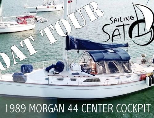 Boat Tour – 1989 Morgan 44 Center Cockpit (Sailing Satori)