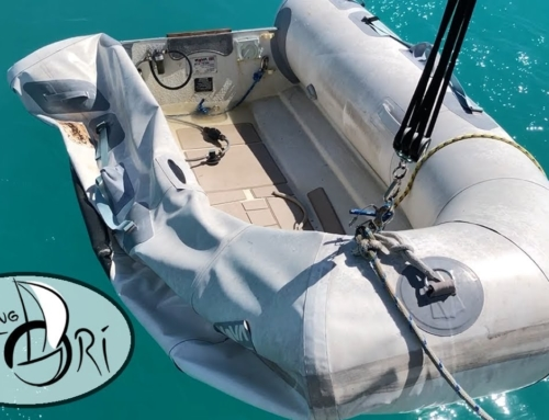 Dinghy Destroyed! – Inflatable Boat Repair (Sailing Satori) S2:E15
