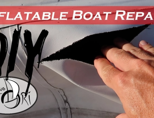 Step-by-Step – Inside/Outside Patch – Inflatable Boat Repair (Sailing Satori) OTH:7