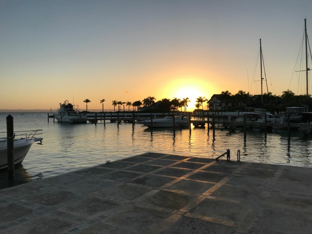 Puerto Bahia Sunset Dock View