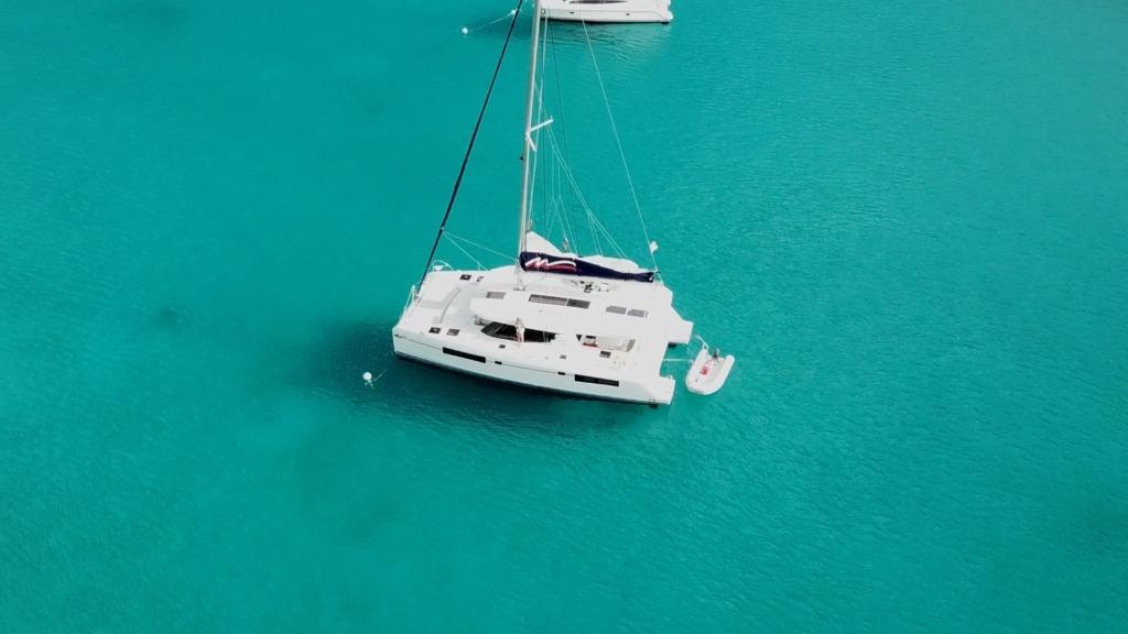 Leopard 45 - drone picture - sailing satori.jpg