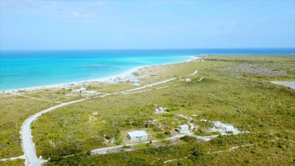Ariel view of Anegada north coast